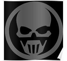 Techno Skull Poster