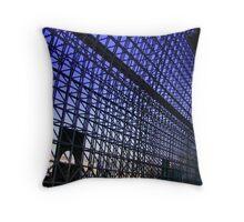 Kyoto Train Station 2 Throw Pillow