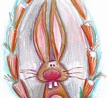 rabbit sketch by Jo Cave  (cavecorner)