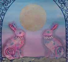 Mad March Hares by Paula Swenson