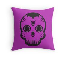Voodoo Skull Throw Pillow