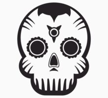 Voodoo Skull One Piece - Short Sleeve