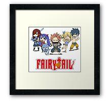 Fairy Tail Chibi Framed Print