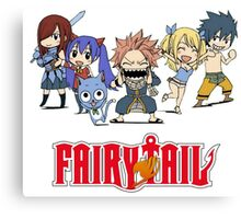 Fairy Tail Chibi Canvas Print