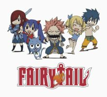 Fairy Tail Chibi by Dandyguy