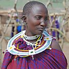 Maasai Woman, Tanzania by Adrian Paul