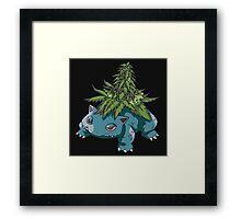 weed pokemon Framed Print