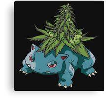 weed pokemon Canvas Print