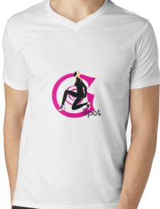 G Spot Mens V-Neck T-Shirt