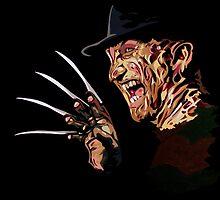 Freddy Krueger by iankingart