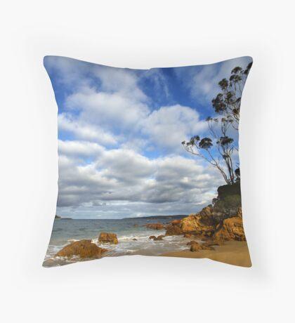 Cocora Beach - Eden Throw Pillow