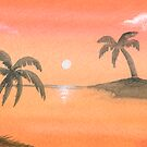 Orange Sunset by krddesigns