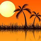 Tropical Sunset by krddesigns