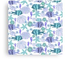 Reefvibe Fish Blue Canvas Print