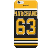 Boston Bruins Brad Marchand Jersey Back Phone Case iPhone Case/Skin