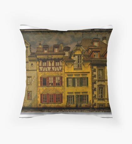 Sense of the centuries Throw Pillow