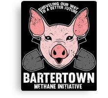 Bartertown Methane Initiative Canvas Print