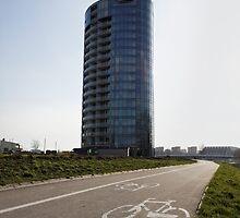 bicycle urban way by Artur Mroszczyk