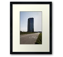 bicycle urban way Framed Print
