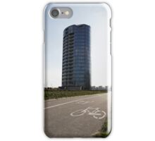 bicycle urban way iPhone Case/Skin