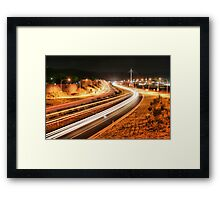 Albury Freeway Framed Print