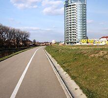 bicycle  way by Artur Mroszczyk