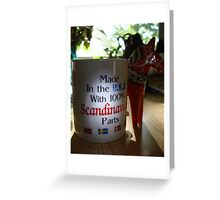 All around the World and Back! Greeting Card