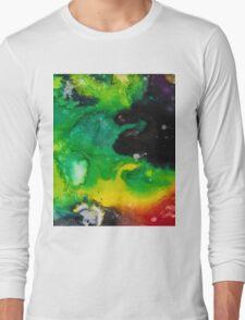 Galaxy Pattern Long Sleeve T-Shirt