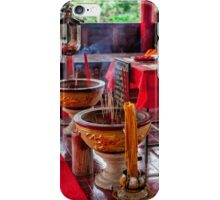 Buddhist Incense iPhone Case/Skin