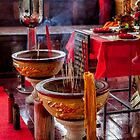 Buddhist Incense by Adrian Evans