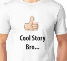 Cool Story Bro Emoji  Unisex T-Shirt