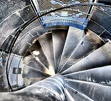 Stepping Up The Scott Monument by Andrew Ness - www.nessphotography.com