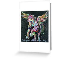Flying Colours Cob Greeting Card