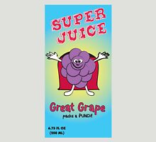 Grape Super Juice Healthy Juice Drink Womens Fitted T-Shirt