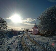 Snow Lane by Sazfab