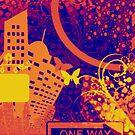 One Way Grunge by krddesigns