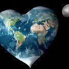 Earth Heart by krddesigns