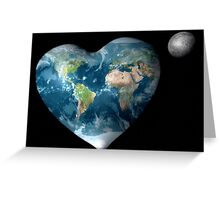 Earth Heart Greeting Card