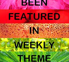 You've Been Featured in Weekly Theme Challenges by Kylie Newton