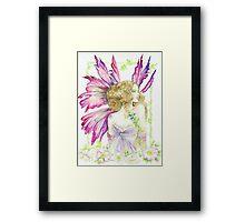 Fantasy Fairy Dianthus Framed Print