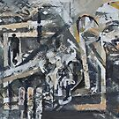 Collaged Abstract 1 by Josh Bowe