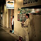 Cool sax by Alexander Meysztowicz-Howen
