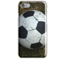Soccer Ball on a Field iPhone Case/Skin