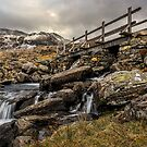 Bridge to Moutains by Adrian Evans