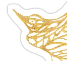 Gold Birds Sticker