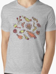 Cambrian Critters Mens V-Neck T-Shirt