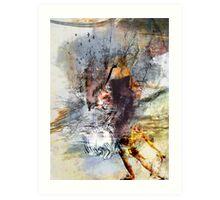 Wolves' dream Art Print