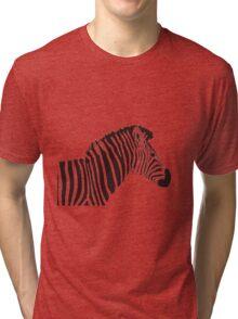 Zed the Zebra Tri-blend T-Shirt