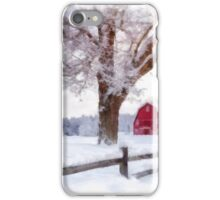 Winter Arrives Watercolor II iPhone Case/Skin