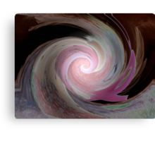 Keep the Faith  (((((((HUG)))))))   In Support of all who have been effected by Breast Cancer Canvas Print